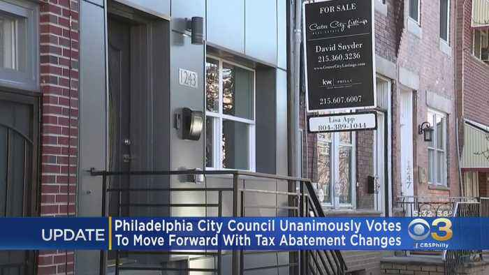 Philadelphia City Council Votes Unanimously To Change Tax Abatement For New Home Constructions