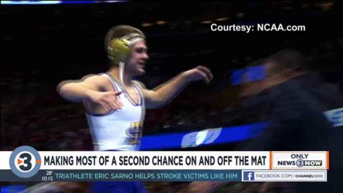 Making the most of second chances: UW-Madison wrestler overcomes adversity on, off mat