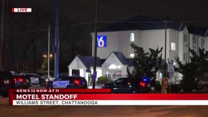 Police Standoff at Motel 6