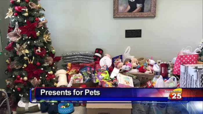Present for Pets is gathering donations at the Dorothy O'conner Pet Adoption Center