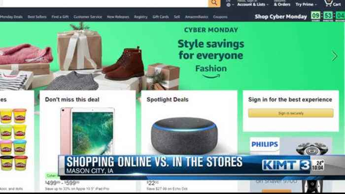 Shopping: In stores or online?