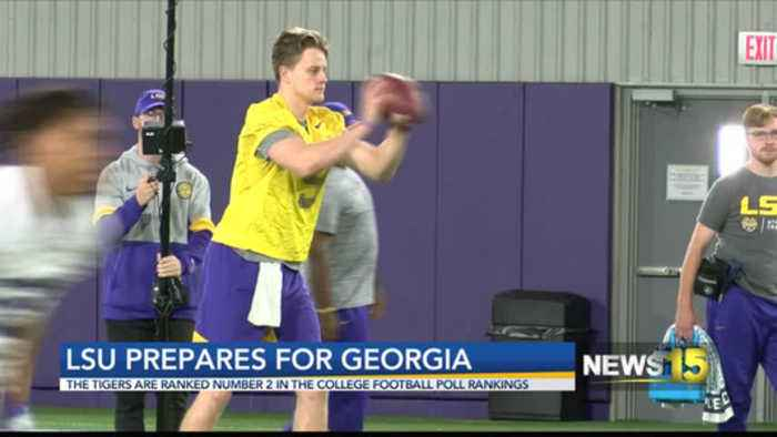 LSU Ready for Georgia