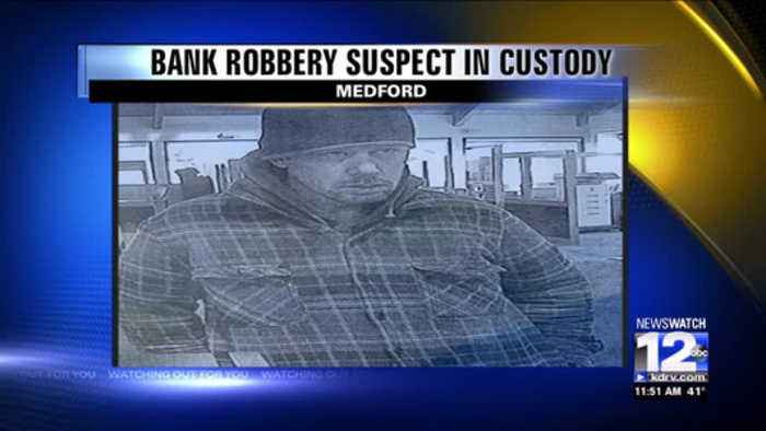 Medford Police arrests suspect in Key Bank robbery