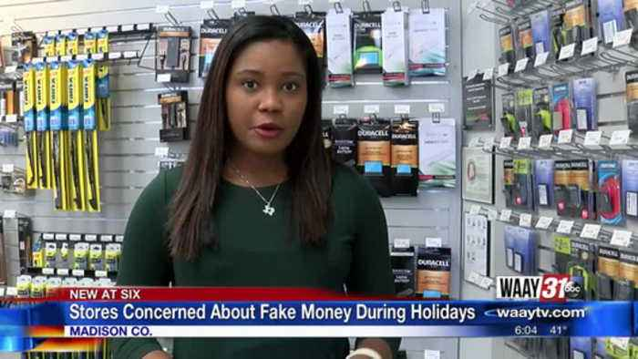 Retailers Concerned About Fake Money