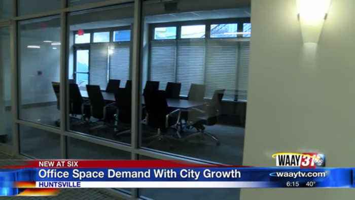 Huntsville Office Space Maxing Out Due To Growth