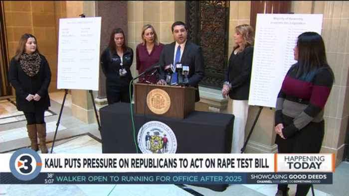 Republican says rape kit testing bill will pass Legislature