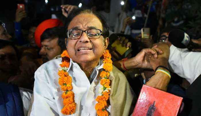INX Media Case : P Chidambaram walks out of Tihar Jail after being granted bail | OneIndia News