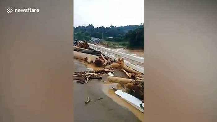 Typhoon Kammuri aftermath leaves rapid floods in the Philippines