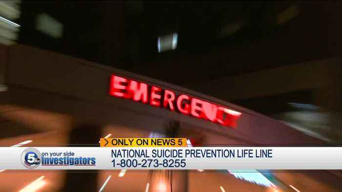 Ohio suicide deaths up 45%, Cuyahoga Co. suicides hit 34 year high