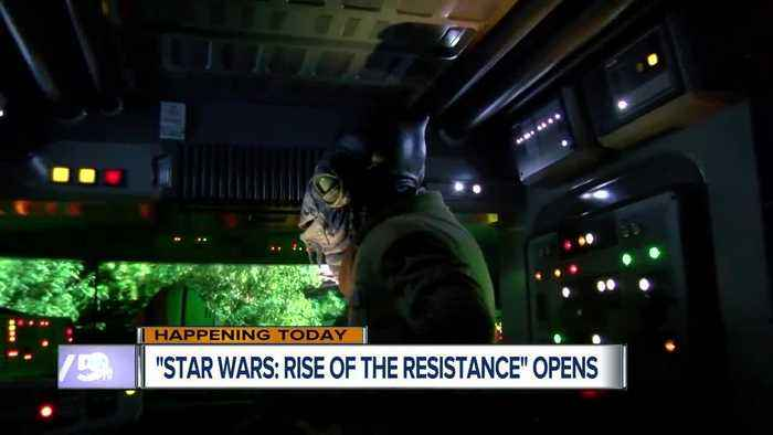 Star Wars: Rise of the Resistance opens at Walt Disney World