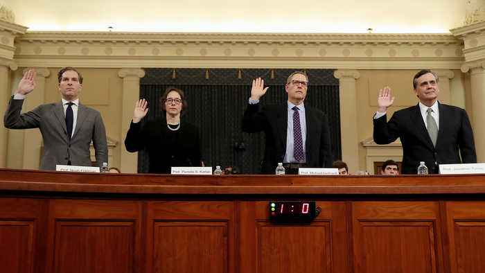 Law Professors Testify on What Makes an Impeachable Offense