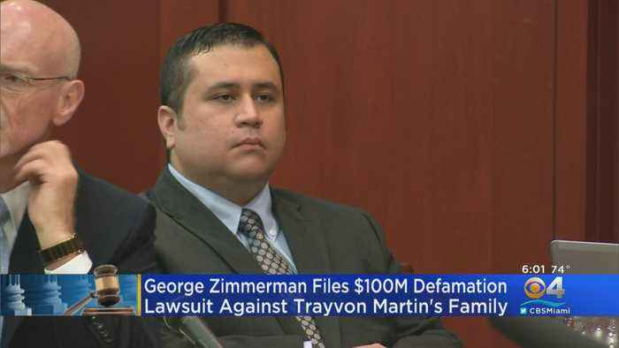 George Zimmerman Suing Trayvon Martin's Family