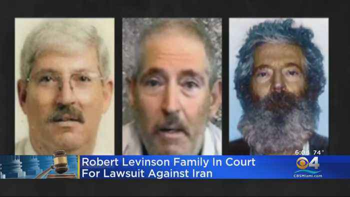 Robert Levinson Family In Court For Lawsuit Against Iran