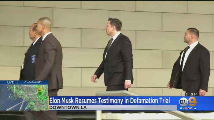 Elon Musk Resumes Testimony In Defamation Trial