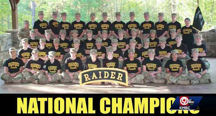 'Do the impossible' Leavenworth HS Army JROTC crowned national champions