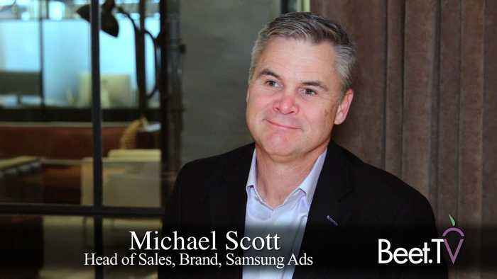 Samsung Ads' Scott Takes Outcome Promise To CES