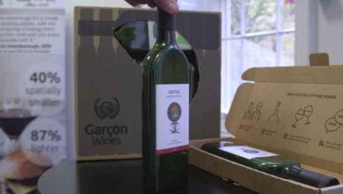 This Eco-Friendly Wine Bottle is 'For Greta Thunburg's Generation'