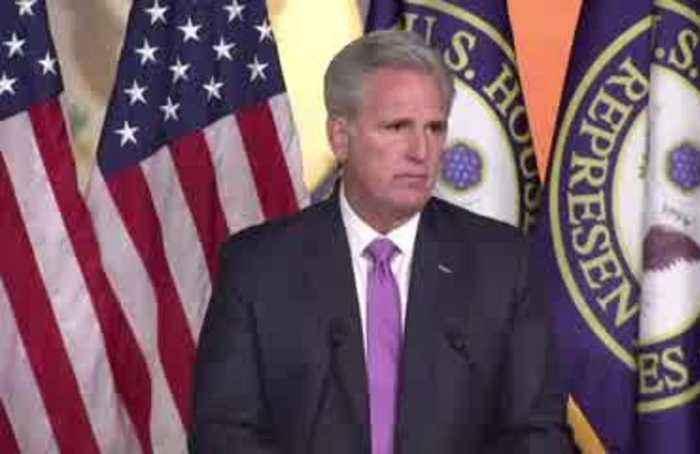 McCarthy confident House impeachment vote 'will be no'