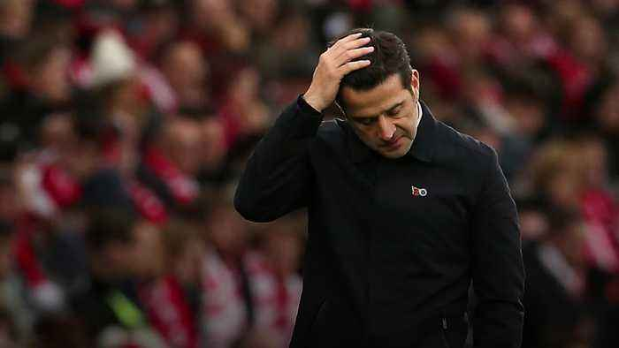 Marco Silva sacked as Everton manager