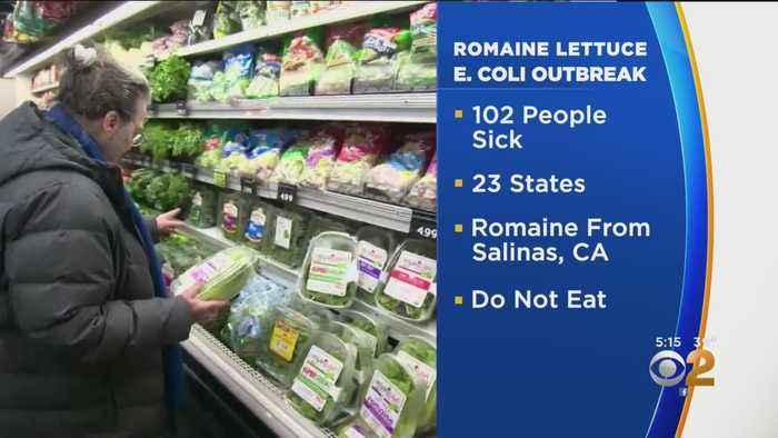 Romaine Lettuce E. Coli Warning Grows
