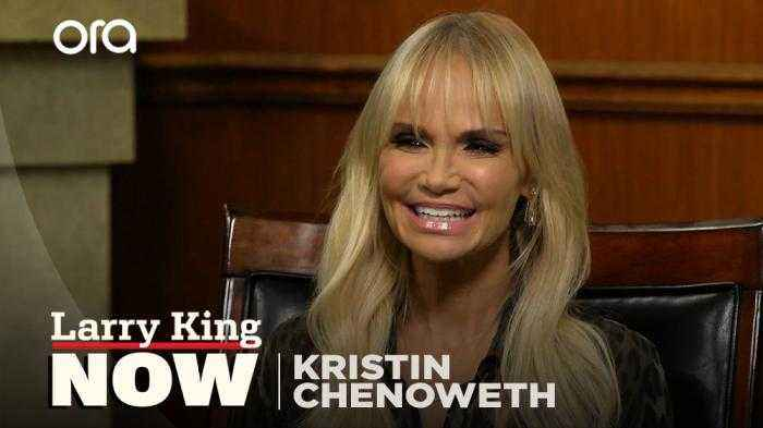 'My birth father was a major musician': Kristin Chenoweth finds out where she got her incredible voice