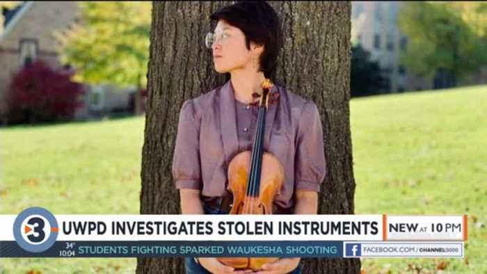 'Completely in shock': After instrument burglaries, student hopes for return of $10,000 violin
