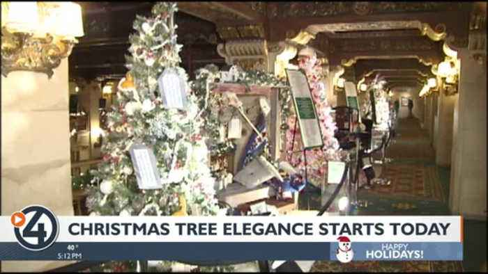 Christmas Tree Elegance is back, with prizes and more