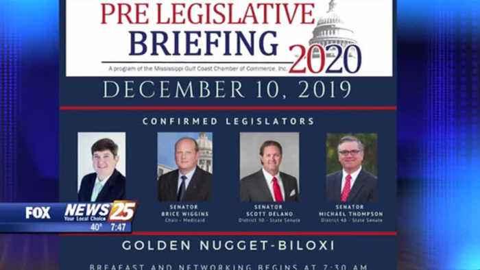 Pre-Lesgislative Briefing on Dec. 10 at Golden Nugget in Biloxi