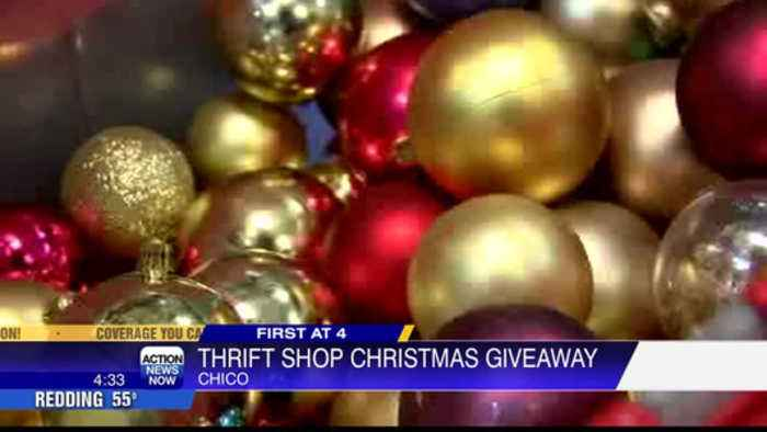 Chico thrift shop to give Camp Fire survivors free holiday decorations