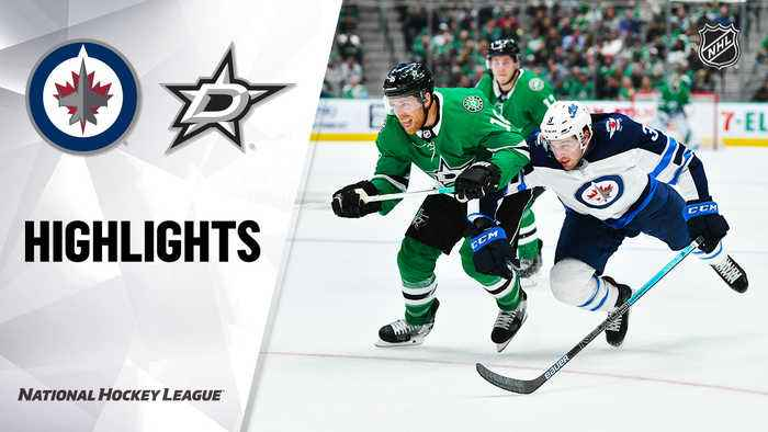 NHL Highlights | Jets  @ Stars 12/05/19
