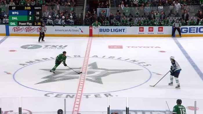 Joe Pavelski with a Goal vs. Winnipeg Jets