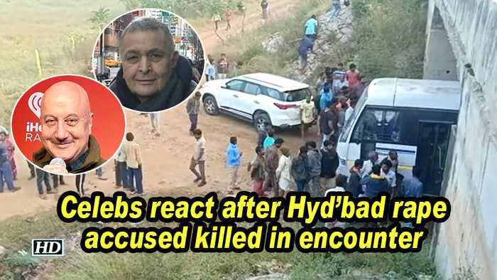 Celebs react after Hyd'bad rape accused killed in encounter