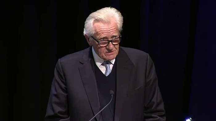 Lord Heseltine addresses People's Vote rally