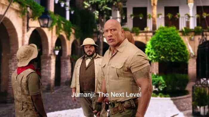 JUMANJI THE NEXT LEVEL movie - Telenovela