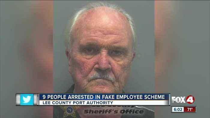 Nine arrests made in 'ghost' employee scheme in Lee County