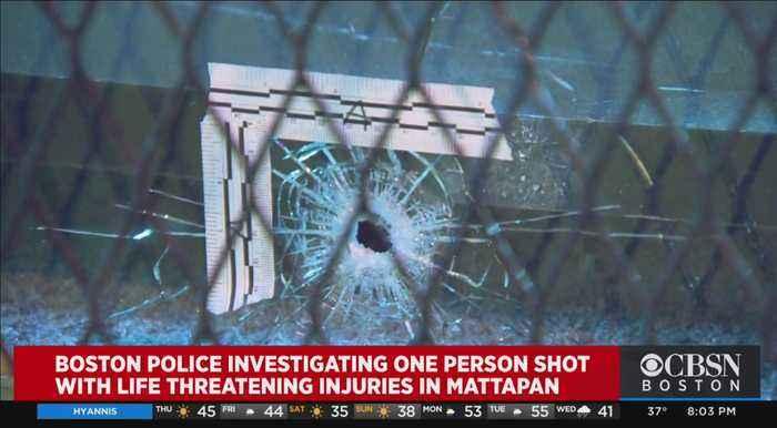 Person Shot in Mattapan