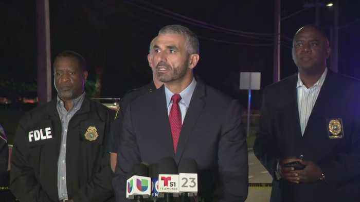 WEB EXTRA: Law Enforcement Officials Hold Press Conference On Aftermath Of Armed Robbery, Chase, Shootout