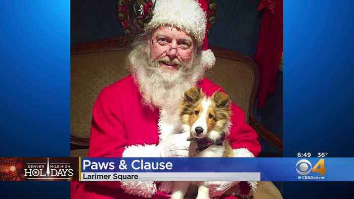 Paws & Claus In Larimer Square On Saturday