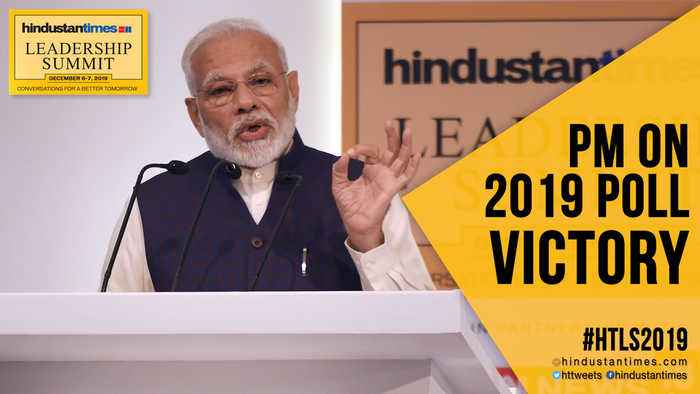 #HTLS2019: PM Modi remembers BR Ambedkar; reveals how he won 2019 LS polls