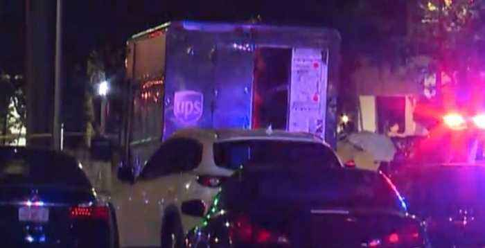 FBI: Four dead, including driver after police chase ends in gunfire after robbery