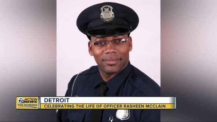 Celebrating life of Officer Rasheen McClain