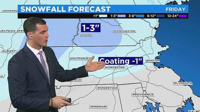 WBZ Morning Forecast For December 6