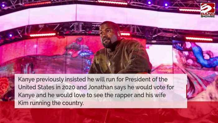 Jonathan Cheban backs Kanye West for president