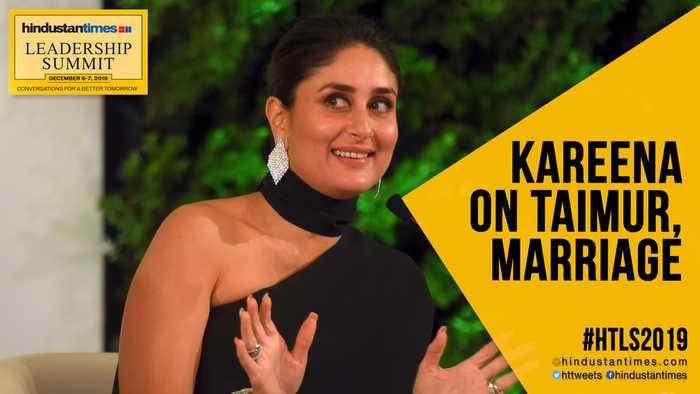 #HTLS2019: Kareena Kapoor Khan on Taimur's 'stardom'; career after marriage