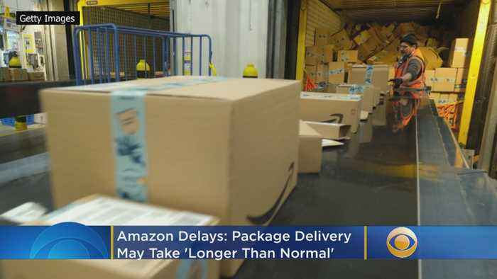 Amazon Delays: Package Delivery May Take 'Longer Than Normal'