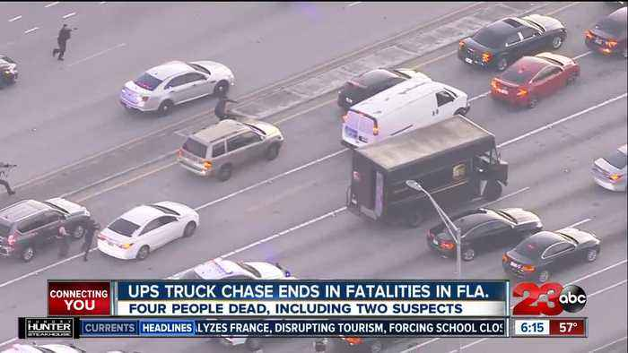 UPS truck chase ends in fatalities in Florida