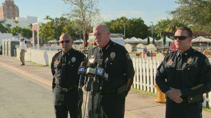 WEB EXTRA: Coral Gables Police Chief Ed Hudak Press Conference
