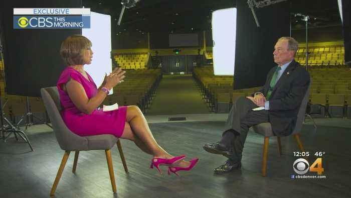 CBS' Gayle King Interviews Michael Bloomberg