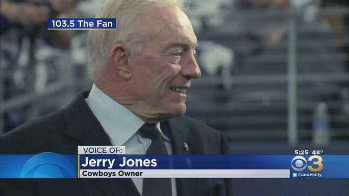 Jerry Jones Gets Upset During Radio Show Interview