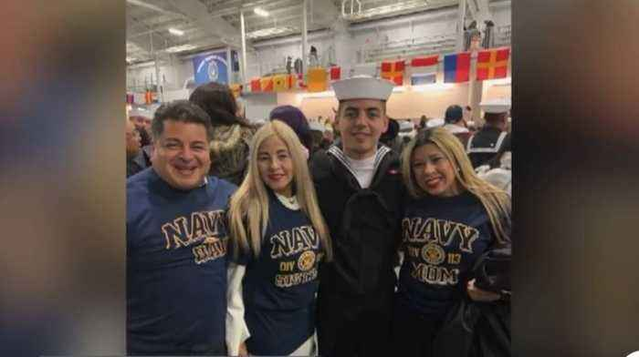 Naval parents staying in contact after shooting